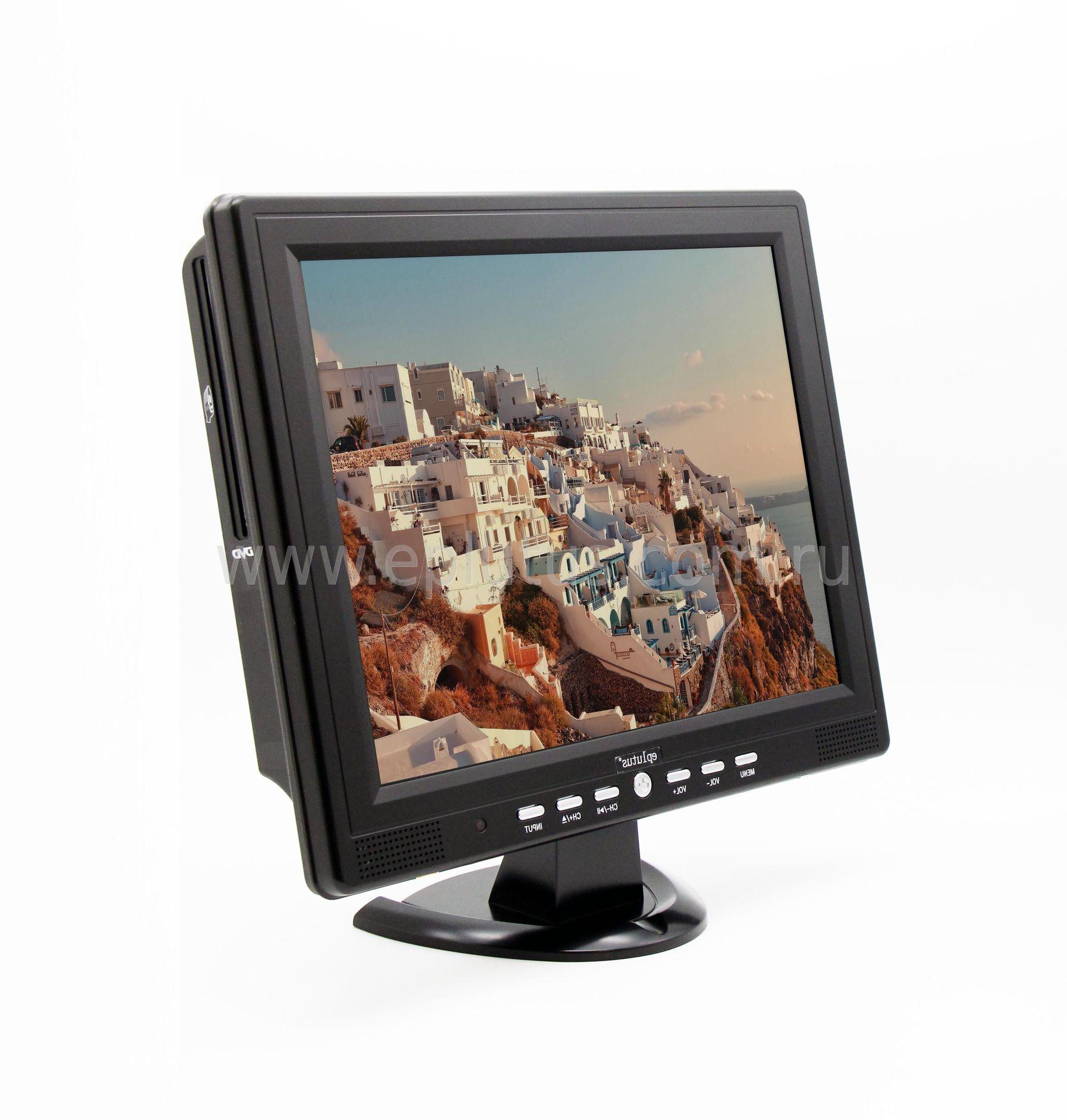 Автомобильный телевизор Eplutus EP-1515T автомобильный телевизор eplutus ep 900t