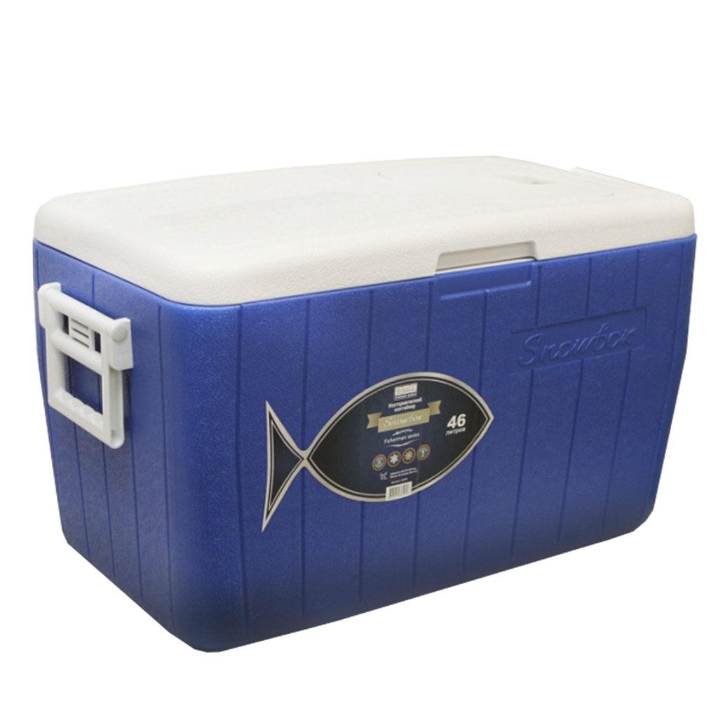 Контейнер изотермический Camping World Fisherman 46 л с люками (цвет - синий)