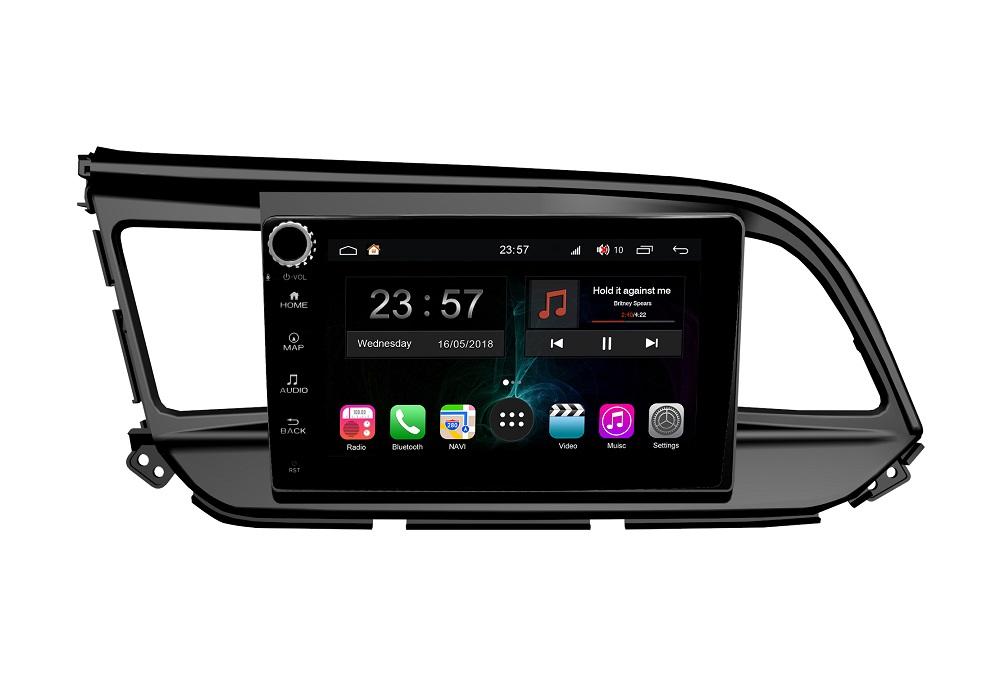 Штатная магнитола FarCar s300-SIM 4G для Hyundai Elantra 2018+ на Android (RG1159RB) (+ Камера заднего вида в подарок!)