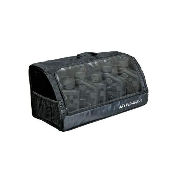 Органайзер в багажник TRAVEL ORG-35 BK ( 70х32х30см, брезент, прозрачный клапан, чёрный) органайзеры в багажник autoprofi органайзер в багажник travel org 10 gy