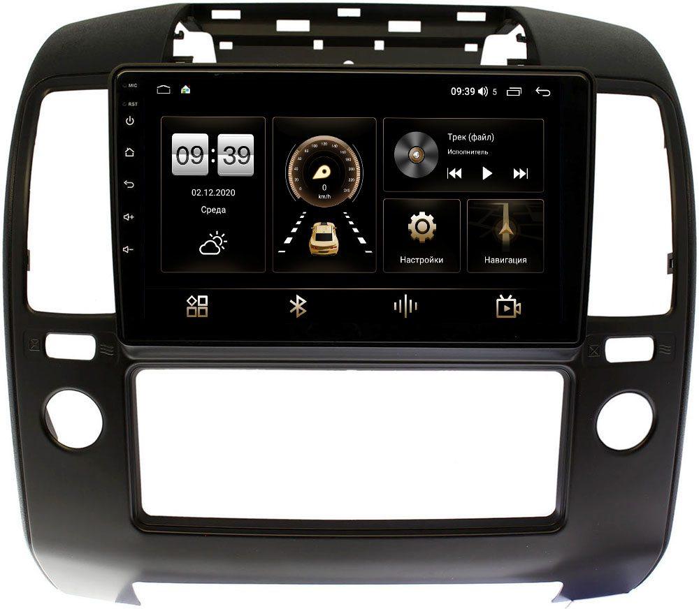 Штатная магнитола LeTrun 4195-10-1103 для Nissan Navara (Frontier) III (D40) 2005-2010 на Android 10 (6/128, DSP, QLed) С оптическим выходом (+ Камера заднего вида в подарок!)