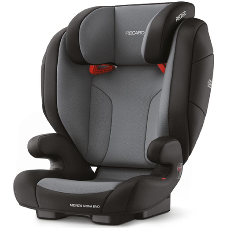 Автокресло Recaro Monza Nova Evo Seatfix Carbon Black (+ Солнцезащитные шторки в подарок!) автокресло recaro monza nova 2 seatfix prime pale rose антисептик спрей для рук в подарок
