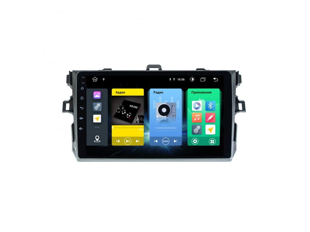 Головное устройство vomi FX351R9-MTK-LTE для Toyota Corolla 2007-2013 E150 (+ Камера заднего вида в подарок!)