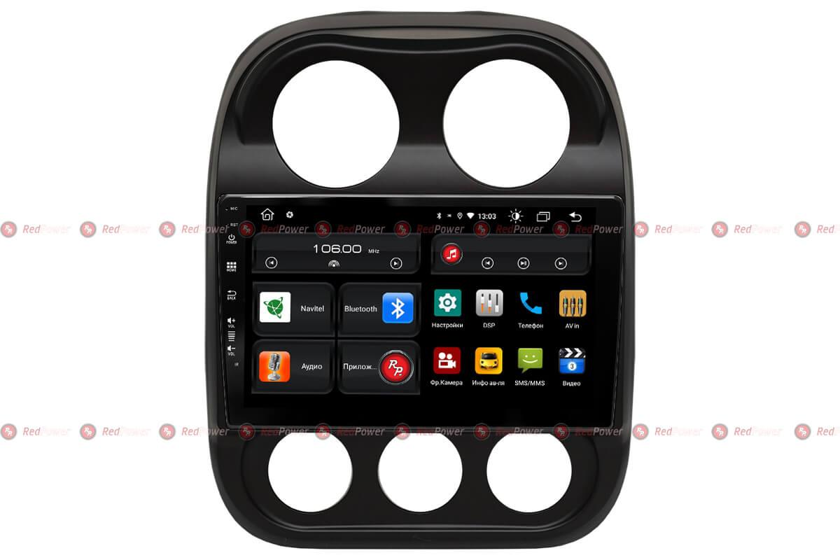 Автомагнитола для Jeep Compass (2010-2016) RedPower 61316 (+ Камера заднего вида в подарок!)