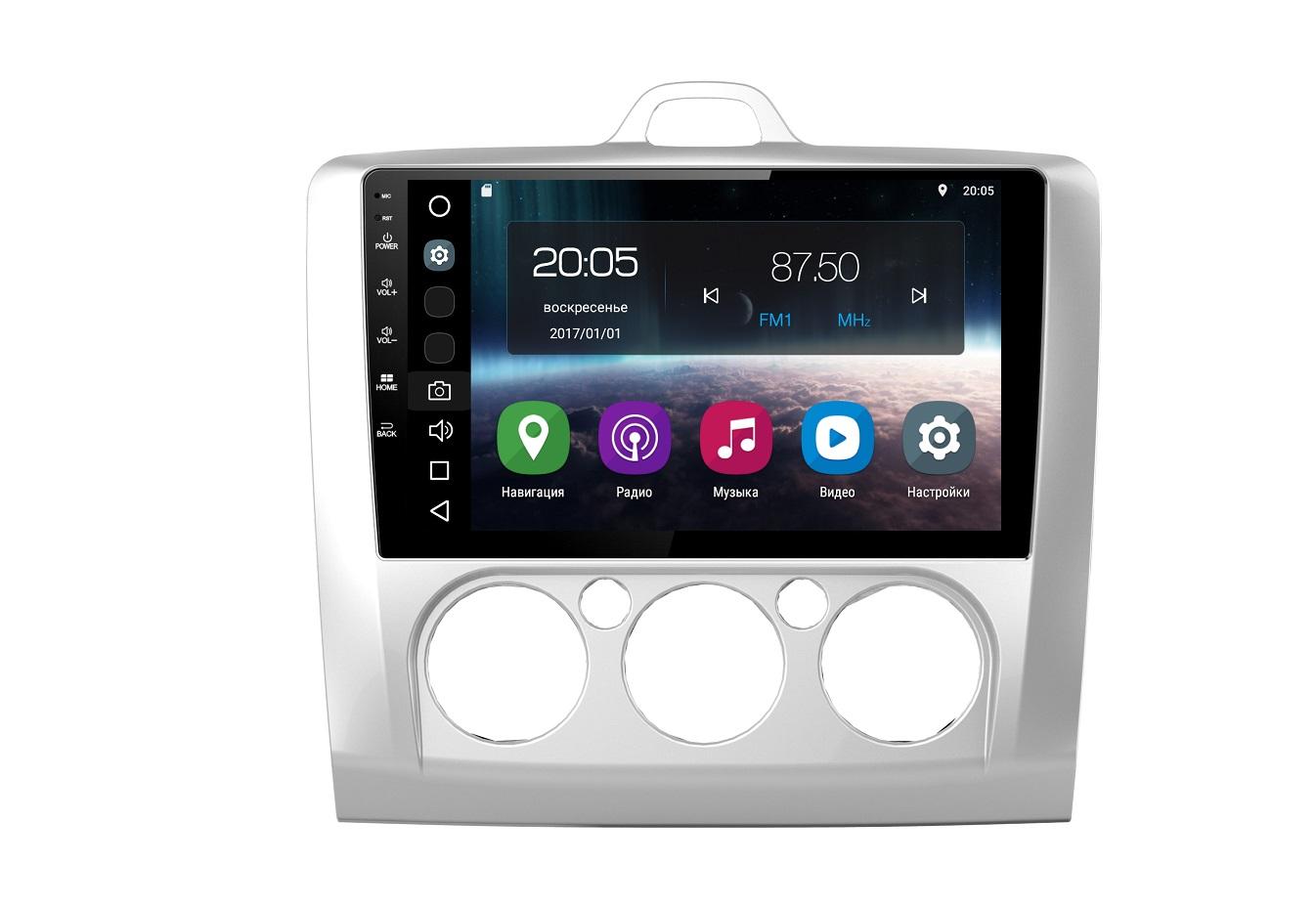 Штатная магнитола FarCar s200 для Ford Focus, Mondeo, C-Max, Galaxy на Android (V003R)