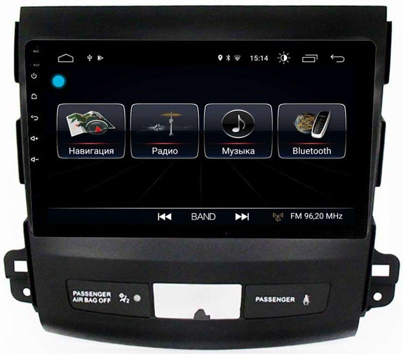 цена на Штатная магнитола LeTrun 1944 для Peugeot 4007 2007-2012 на Android 8.0.1 MTK-L 1Gb