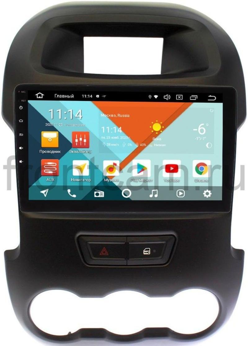 Штатная магнитола Ford Ranger III 2012-2015 Wide Media KS9165QM-2/32 DSP CarPlay 4G-SIM Android 10 (+ Камера заднего вида в подарок!)