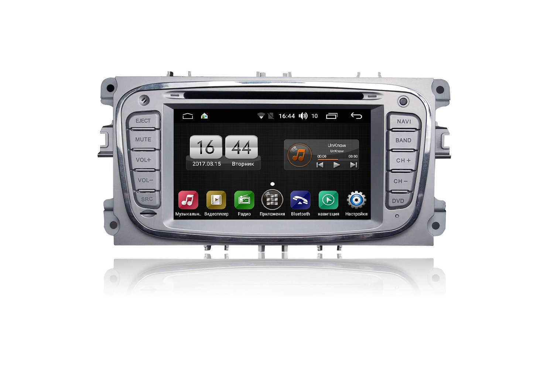 Штатная магнитола FarCar s170 для Ford Focus, Mondeo, C-Max, Galaxy на Android (L003) штатная магнитола farcar s160 для audi a4 m050