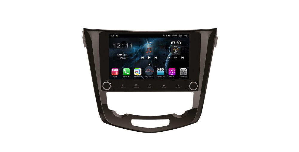 Штатная магнитола FarCar s400 для Nissan Qashqai, X-Trail на Android (H665RB) (+ Камера заднего вида в подарок!)