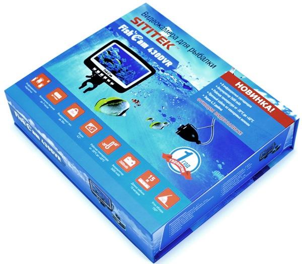 Подводная видеокамера для рыбалки SITITEK FishCam-430 DVR (Леска в подарок!)