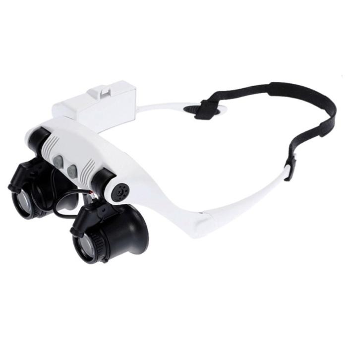 Фото - Лупа-очки Kromatech налобная бинокулярная 10/15/20/25x, с подсветкой (2 LED) MG9892G-3A организация освоения образовательной области безопасность с детьми 2 7 лет фгос