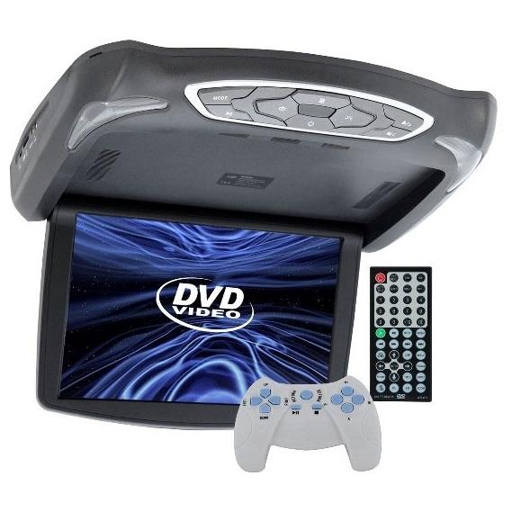 Автомобильный потолочный монитор 13.3 со встроенным DVD Intro JS-1340 DVD