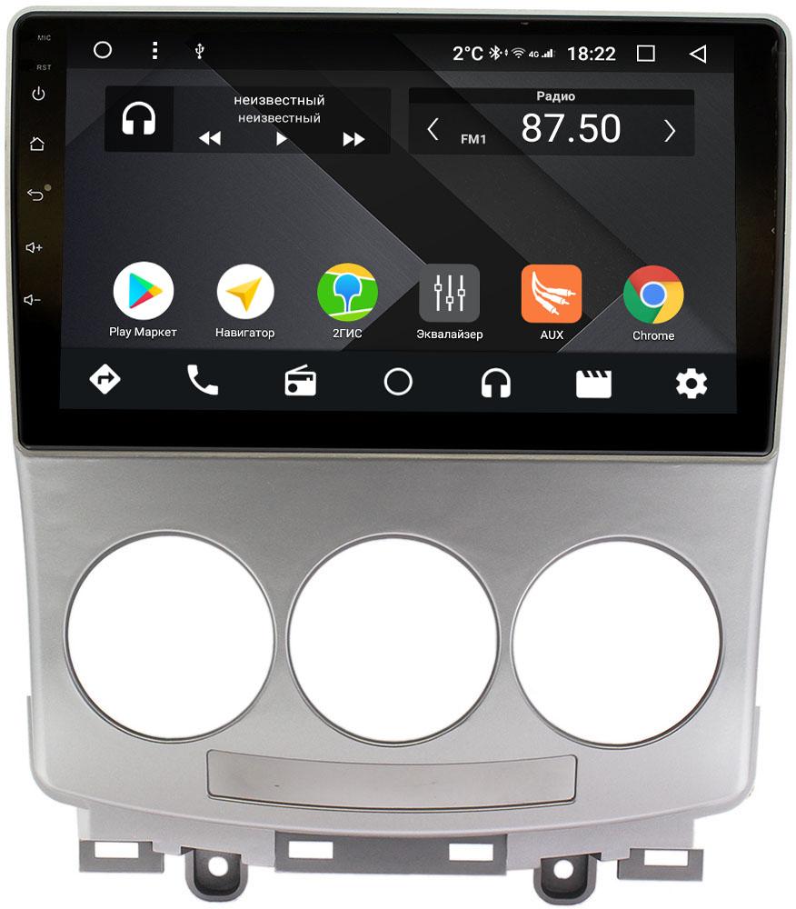 Фото - Штатная магнитола Mazda 5 I (CR), Premacy II (CR) 2005-2010 Wide Media CF9147-OM-4/64 на Android 9.1 (TS9, DSP, 4G SIM, 4/64GB) (+ Камера заднего вида в подарок!) штатная магнитола mazda cx 7 i 2006 2012 wide media cf9073 om 4 64 на android 9 1 ts9 dsp 4g sim 4 64gb камера заднего вида в подарок