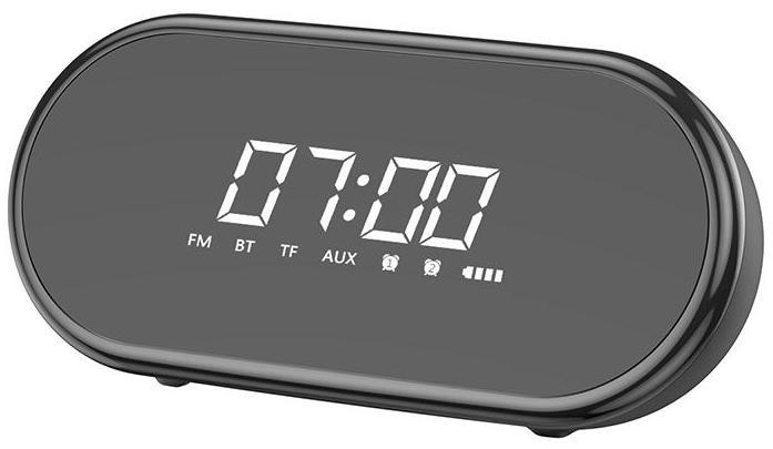 Колонка часы Baseus Encok Wireless Speaker E09 Black