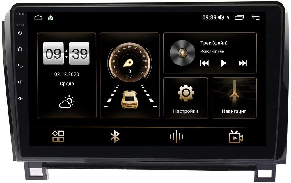 Штатная магнитола Toyota Tundra II, Sequoia II 2008-2021 LeTrun 3799-1055 на Android 10 (4/64, DSP, QLed) С оптическим выходом (с усилителем JBL) (+ Камера заднего вида в подарок!)