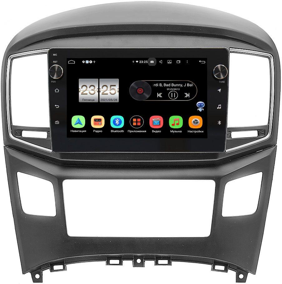 Штатная магнитола LeTrun BPX609-604 для Hyundai H1 II, Grand Starex I 2015-2019 на Android 10 (4/64, DSP, IPS, с голосовым ассистентом, с крутилками) (+ Камера заднего вида в подарок!)
