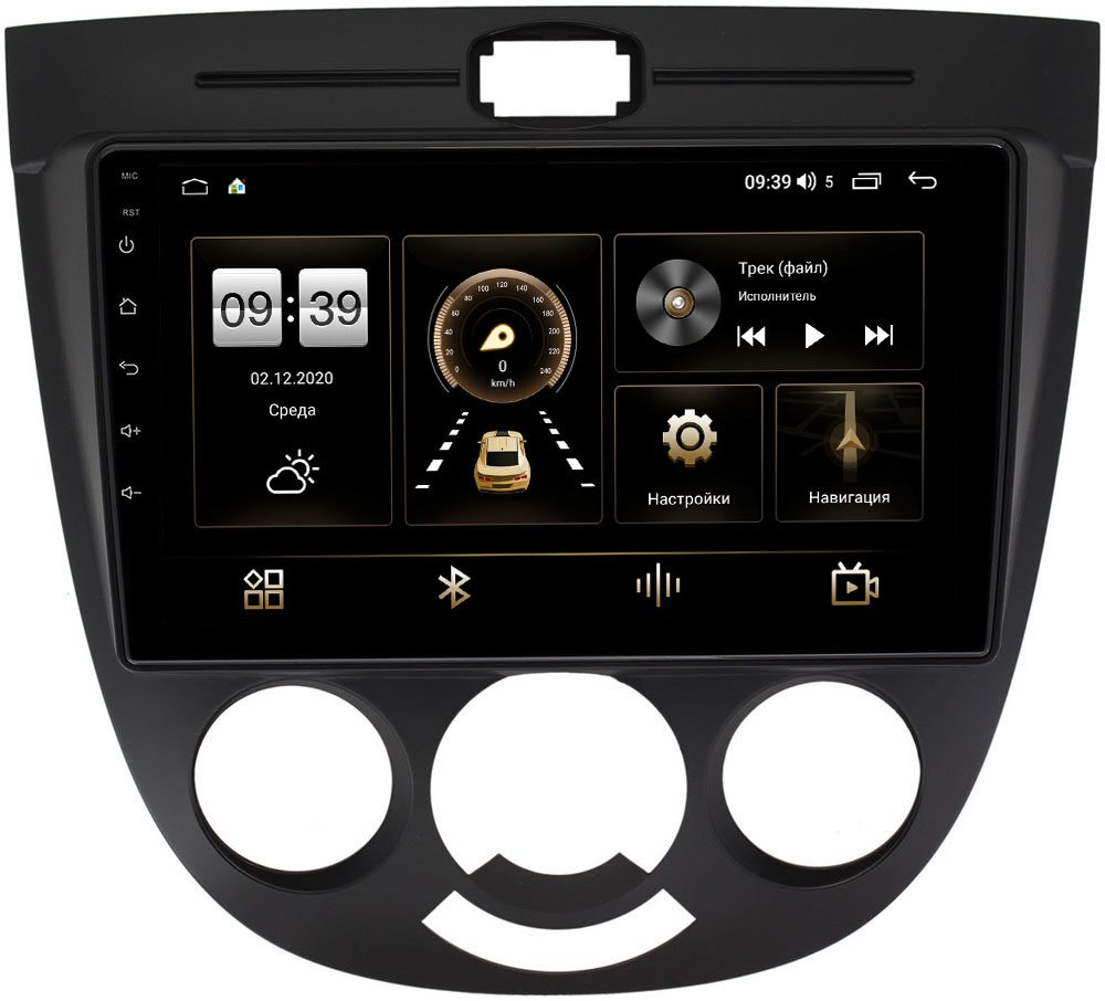 Штатная магнитола Chevrolet Lacetti 2004-2013 (тип 3) LeTrun 4196-9137 на Android 10 (6/128, DSP, QLed) С оптическим выходом (+ Камера заднего вида в подарок!)