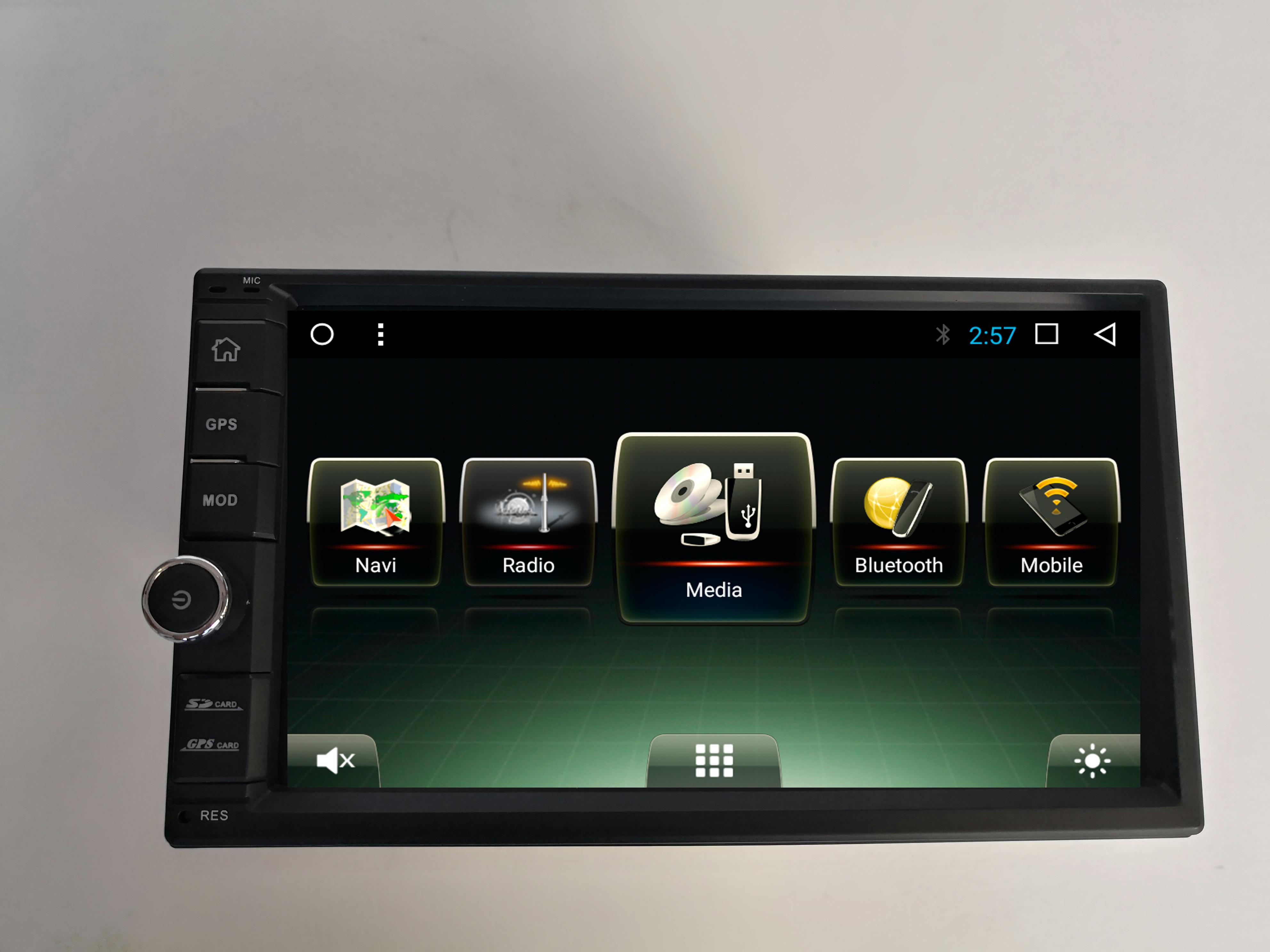 Штатная магнитола CARMEDIA U9-6503-T8 универсальная автомагнитола 2DIN на Android 7.1 msd489av u9