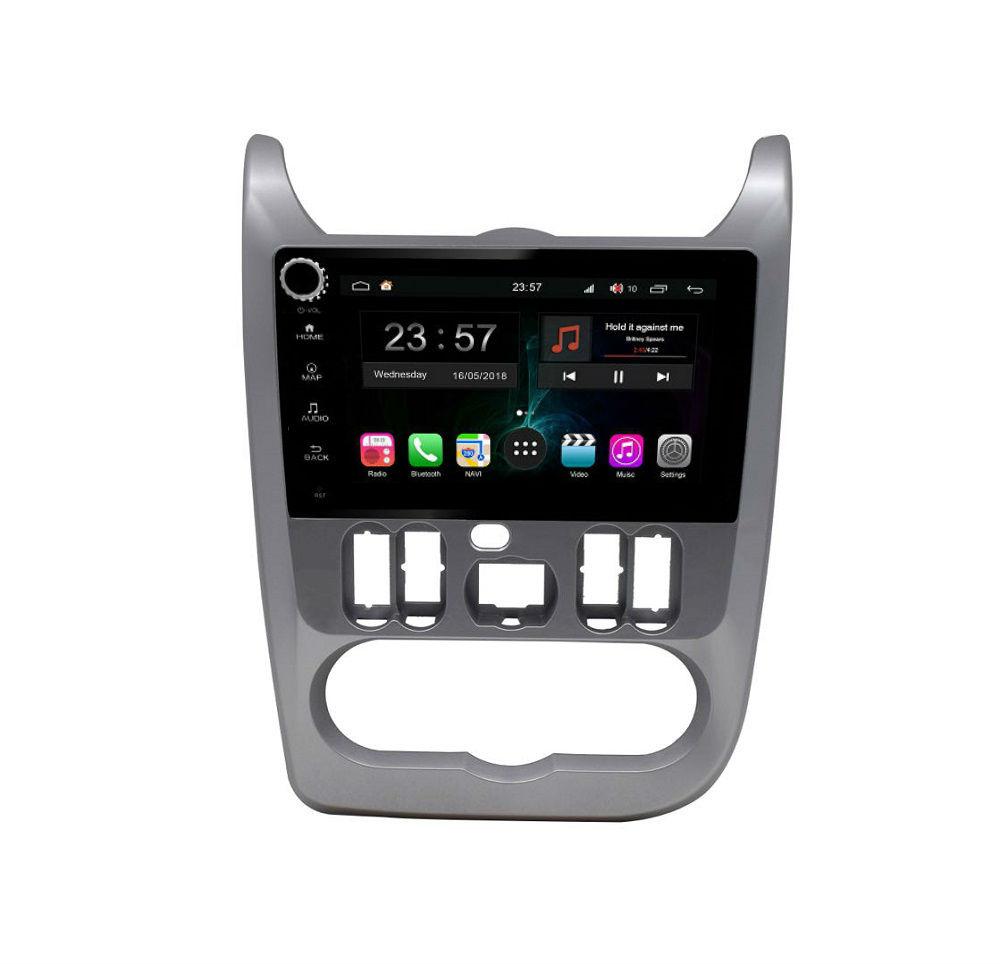 Штатная магнитола FarCar s300+SIM 4G для Renault Logan, Sandero на Android (RT752R) (+ Камера заднего вида в подарок!)