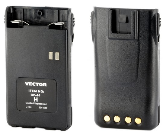 Аккумулятор для рации Vector VT-44 H вешалка vt h 16