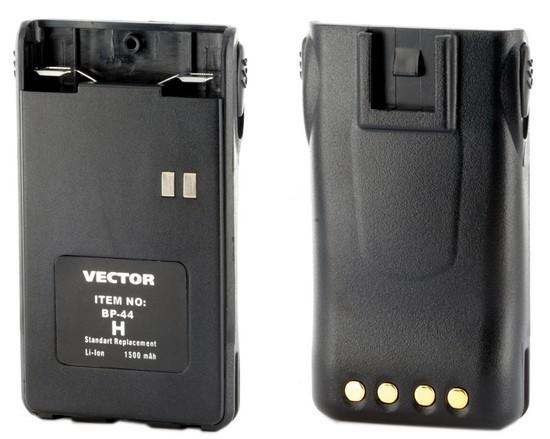 Аккумулятор для рации Vector VT-44 H рация vector vt 27 navigator