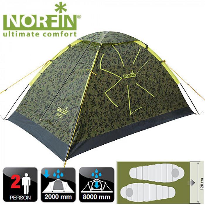 все цены на Палатка 2-х местная Norfin RUFFE 2 NC онлайн