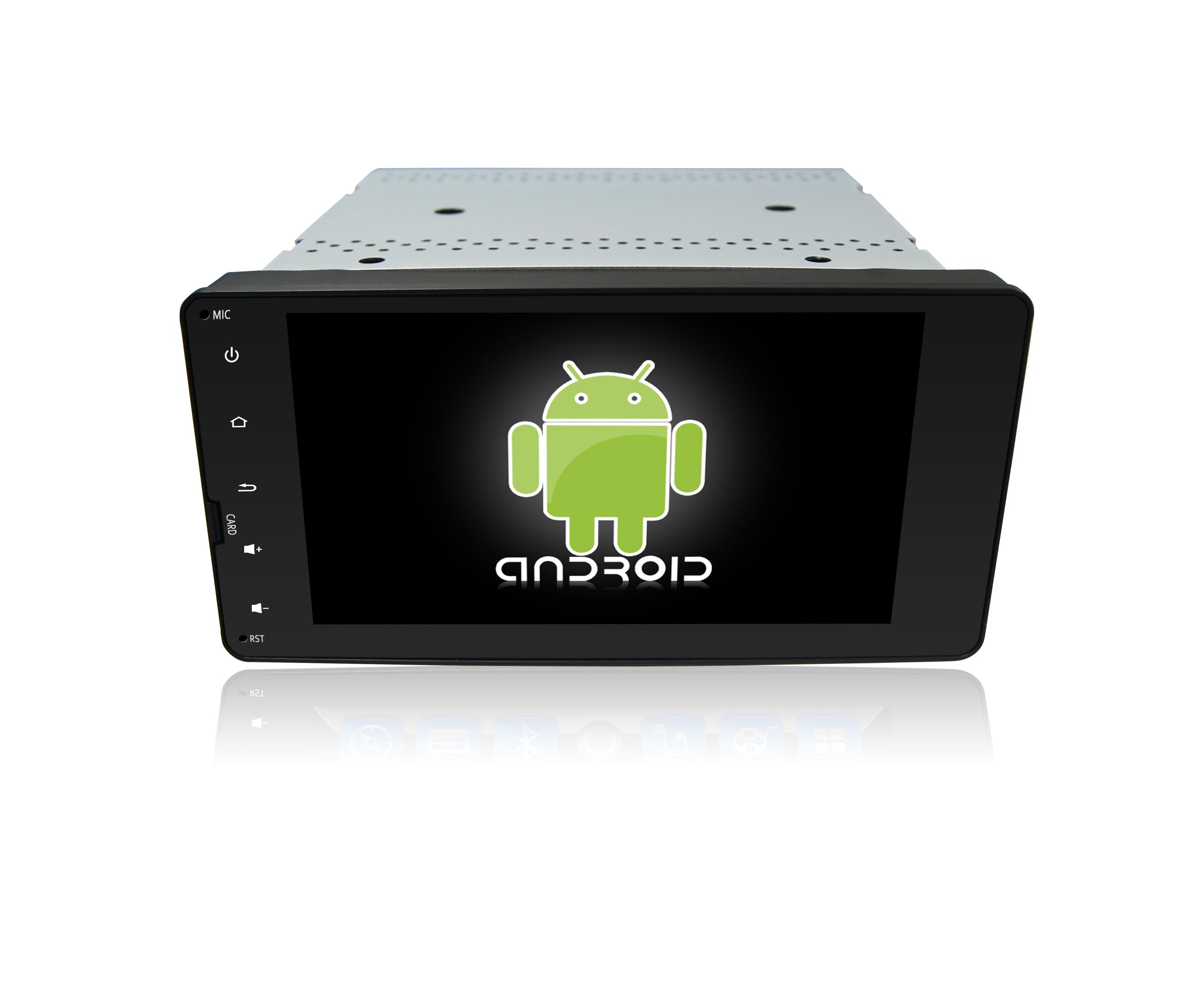 Штатная магнитола CARMEDIA KR-7118-T8 для Mitsubishi (Universal) Android 7.1.2 sailfish os sertificirovana v rossii v kachestve alternativy android