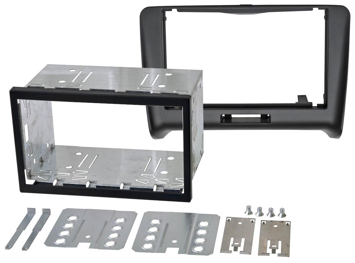 Переходная рамка Intro RAU-TT07S для AUDI TT (8J) (салазки) автомагнитолы