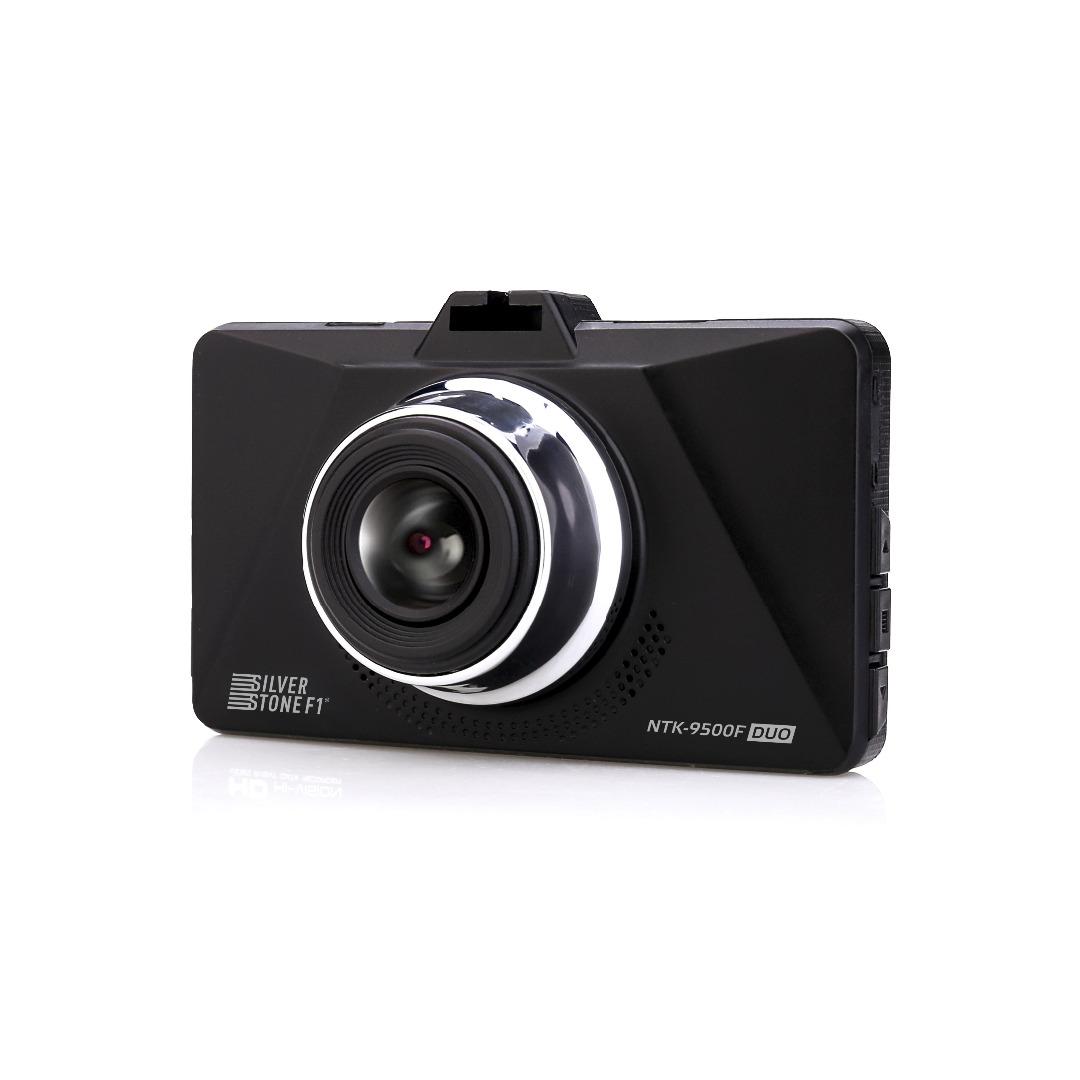 Видеорегистратор с камерой заднего вида SilverStone SilverStone F1 NTK-9500F Duo (+ Разветвитель в подарок!)