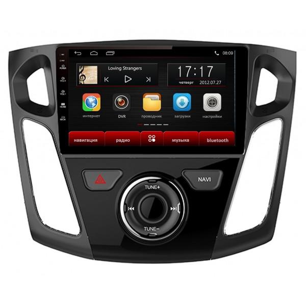 Головное устройство Subini FRD902 с экраном 9 для Ford Focus III (BM_) 2010- (+ Камера заднего вида в подарок!).