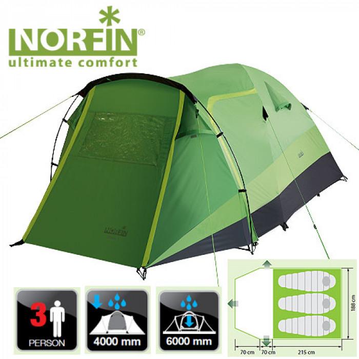 Палатка 3-х местная Norfin BREAM 3 NF