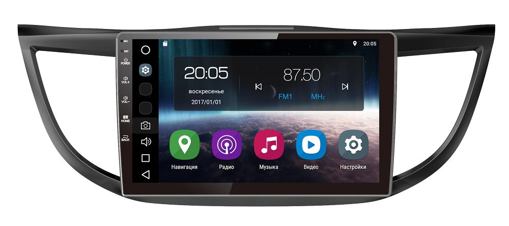 Штатная магнитола FarCar s200 для Honda CR-V 2012+ на Android (V469R) автомагнитола redpower 21009b для honda cr v 2007 2012