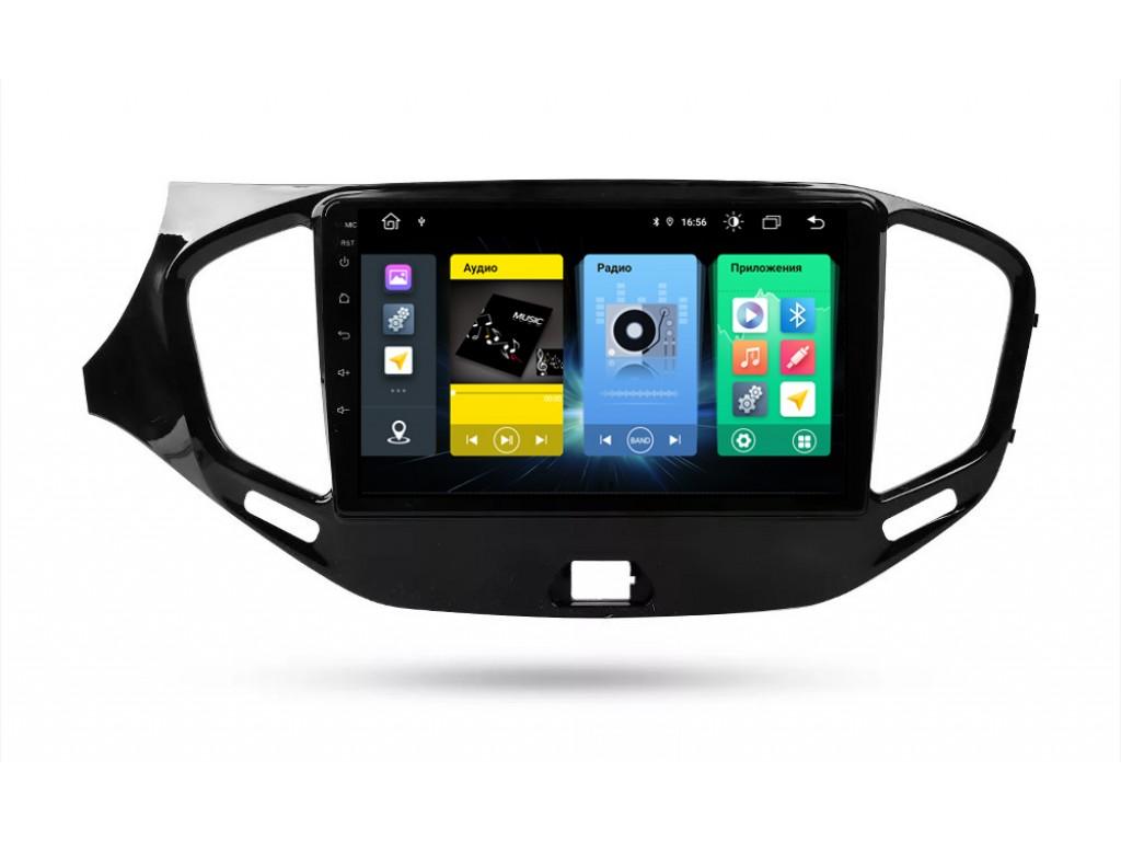 Головное устройство vomi FX328R9-MTK-LTE для Lada Vesta 2015+ (+ Камера заднего вида в подарок!)
