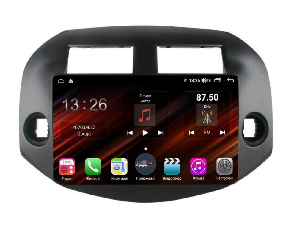 Штатная магнитола FarCar s400 Super HD для Toyota RAV-4 на Android (XH018R) (+ Камера заднего вида в подарок!)