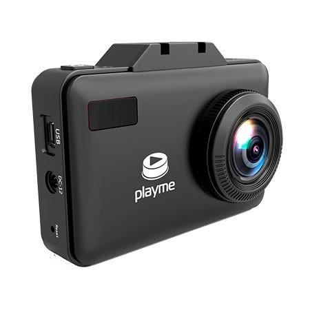 Видеорегистратор с радар-детектором Playme P550 TETRA (+ Карта памяти microSD на 32 ГБ в подарок!)