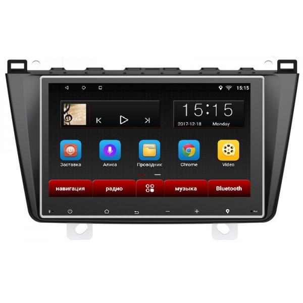 """Головное устройство Subini MZD101 с экраном 9"""" для Mazda6 2012+ (+ Камера заднего вида в подарок!)"""