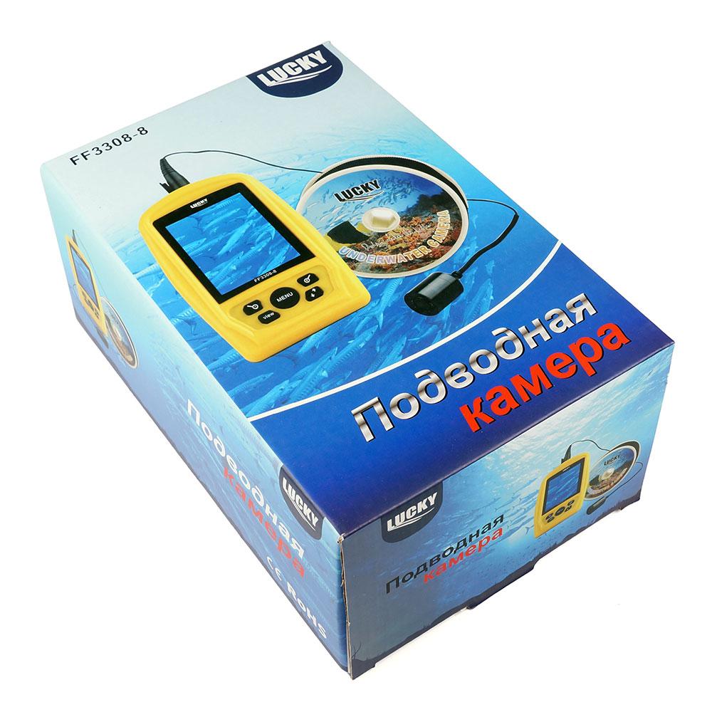 Подводная видеокамера Lucky FF3308-8 NEW (Леска в подарок!)