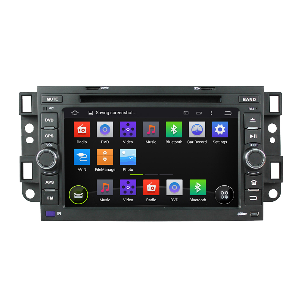 Штатная магнитола CARMEDIA KDO-7046 DVD Chevrolet Aveo 2005-2011 (T250), Epica 2006-2012, Captiva 2006-2011 (202х120мм) custom fit car trunk mats for chevrolet sail srv cruze aveo captiva epica malibu 2008 2017 boot liner rear trunk cargo tray mats