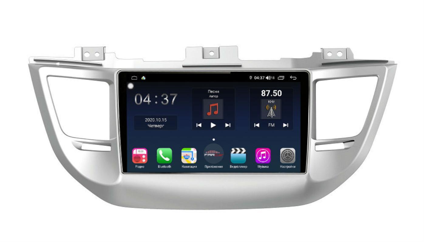 Штатная магнитола FarCar s400 для Hyundai Tucson на Android (TG546R) (+ Камера заднего вида в подарок!)
