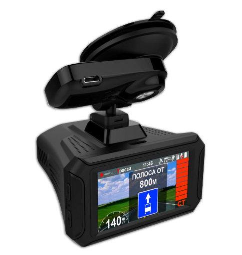Видеорегистратор с радар-детектором Intego Hunter II видеорегистратор intego vx 215hd
