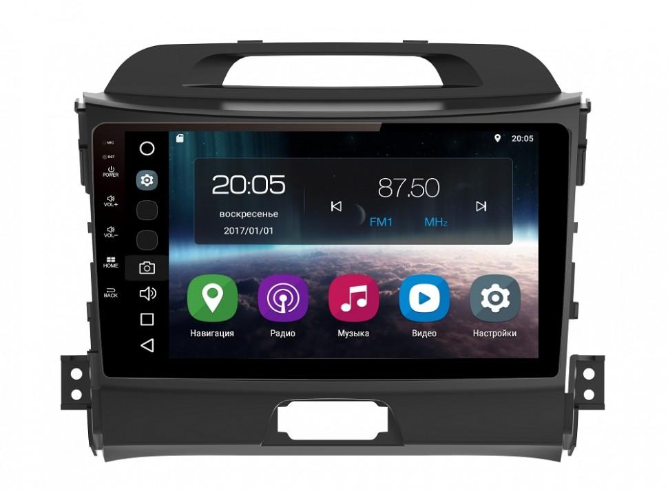 Штатная магнитола FarCar s200 для Kia Sportage (2010-2015) на Android (V537R-DSP) штатная магнитола letrun 1867 для kia sportage 2010 2016 android 6 0 1