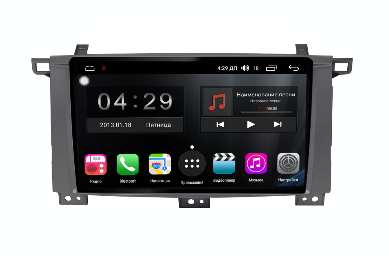 Штатная магнитола FarCar s300-SIM 4G для Toyota Land Cruiser 100 на Android (RG457/1234R) (+ Камера заднего вида в подарок!)