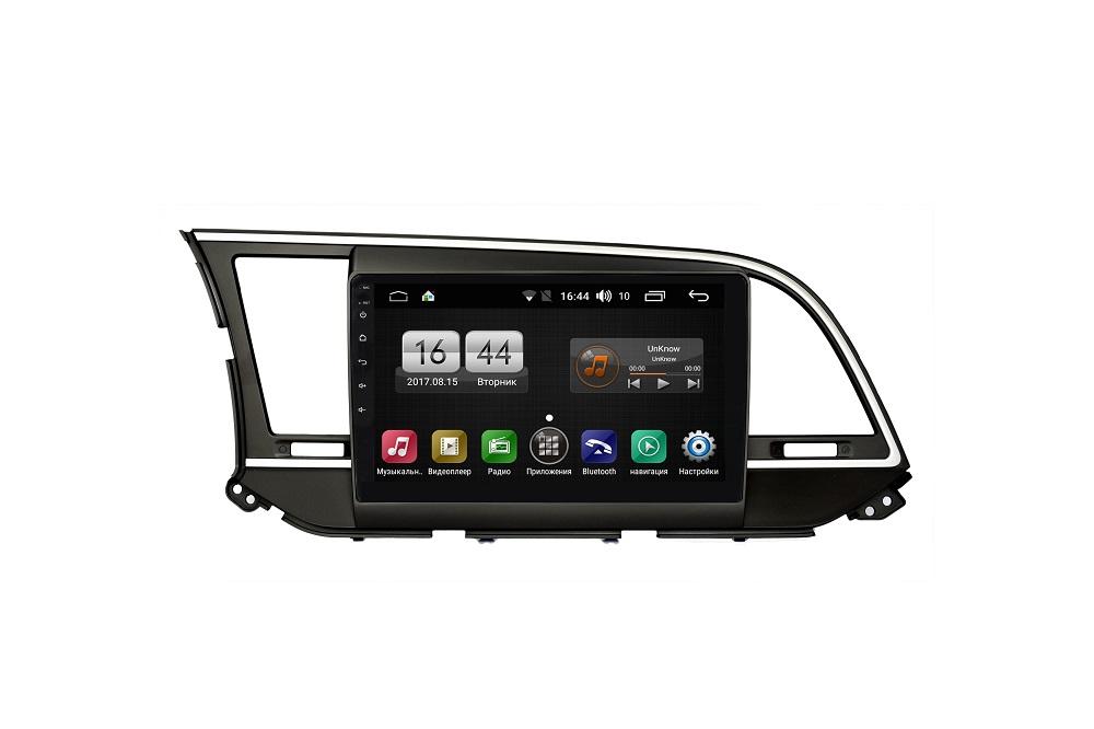 Штатная магнитола FarCar s185 для Hyundai Elantra 2016+ на Android (LY581R) (+ Камера заднего вида в подарок!)