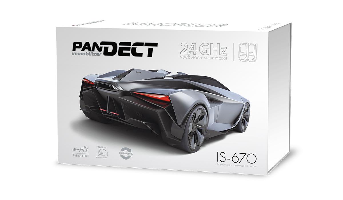 цена на Иммобилайзер Pandect IS-670