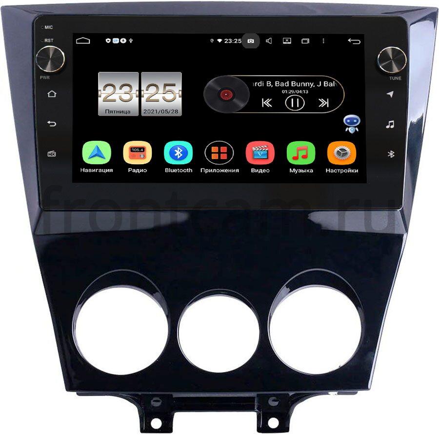 Штатная магнитола LeTrun BPX409-234 для Mazda RX-8 2008-2012 на Android 10 (4/32, DSP, IPS, с голосовым ассистентом, с крутилками) (+ Камера заднего вида в подарок!)