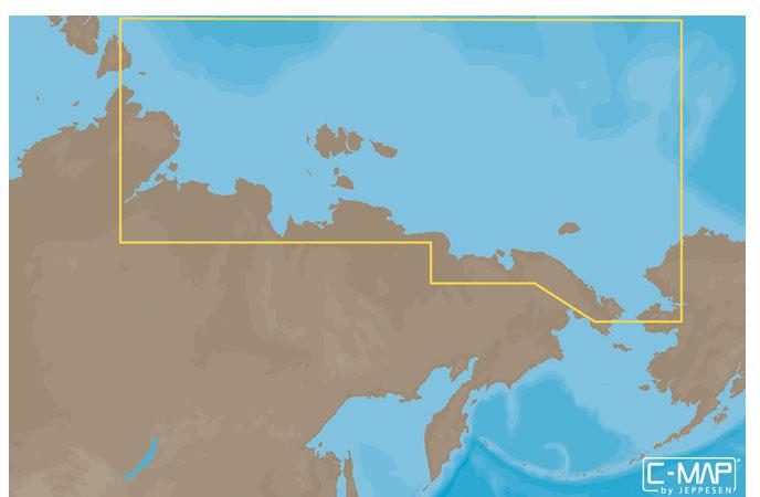 Карта C-MAP RS-N204 - Северо-Восточное побережье России