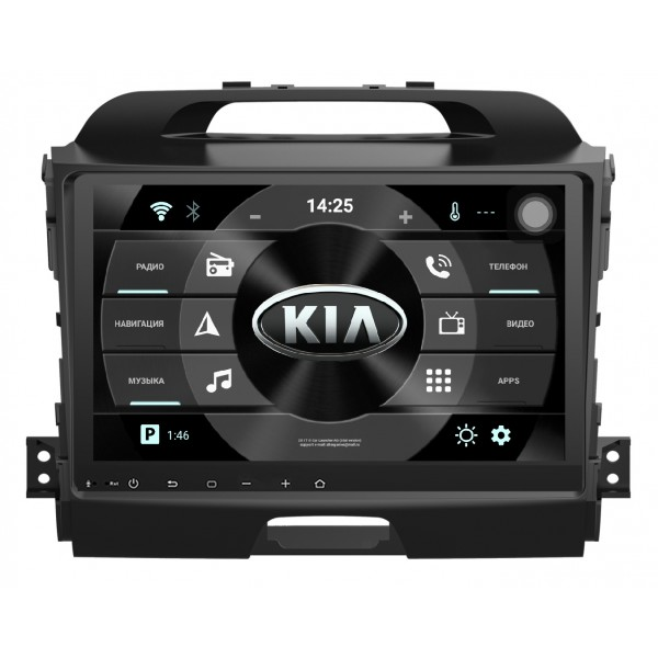 Головное устройство Subini KIA905Y с экраном 9 для KIA Sportage III new arrival ucandas vdm ii wifi automotive scanner vdm2 v3 9 support multi language and android system free shipping