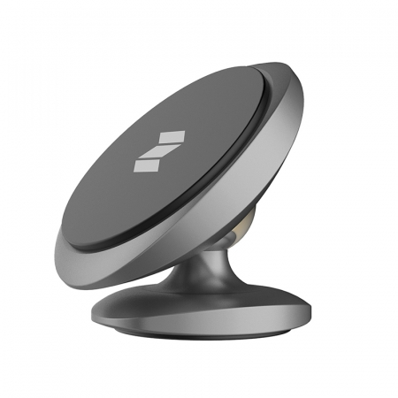 Держатель Rock Magnetic Dashboard Car Mount grey