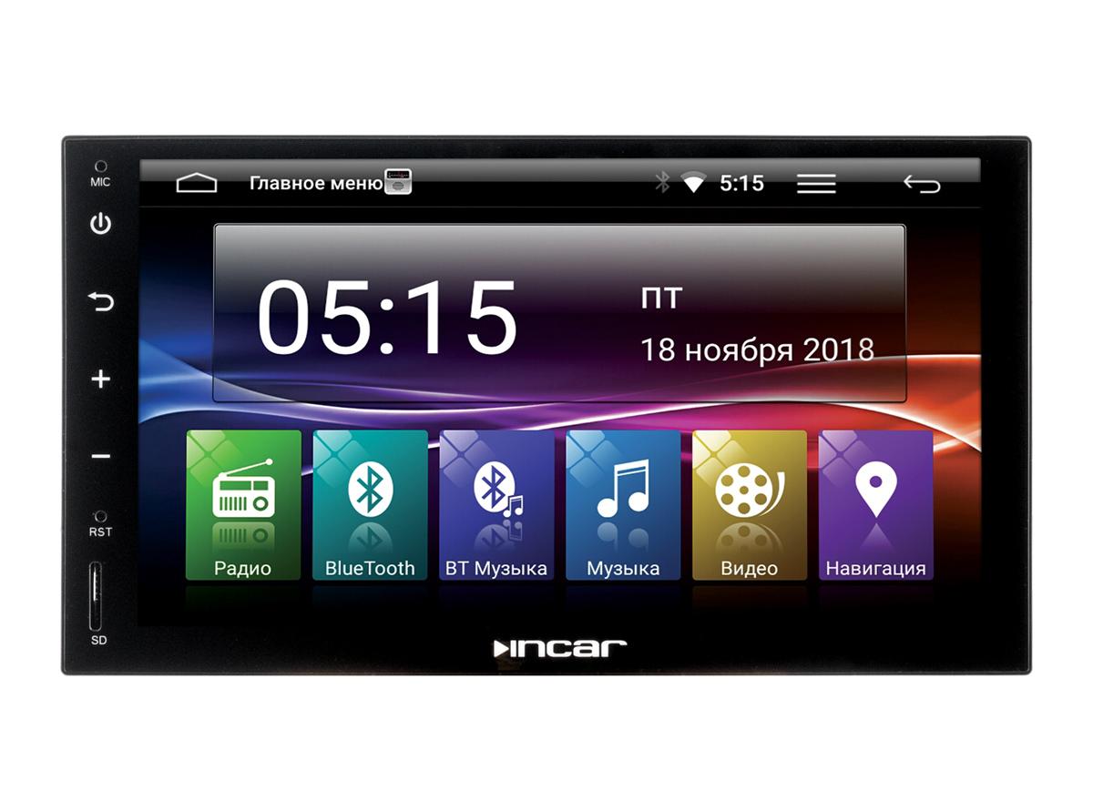 Универсальное головное устройство 2DIN InCar AHR-7680 (Android 7.0) велосипед stark vesta 26 1 s 2018