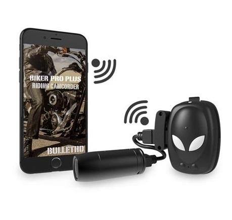 BulletHD Biker Pro Plus (+ Разветвитель в подарок!) двухканальный видеорегистратор для мотоцикла квадроцикла снегохода full hd 1080p avel avs1010dvr